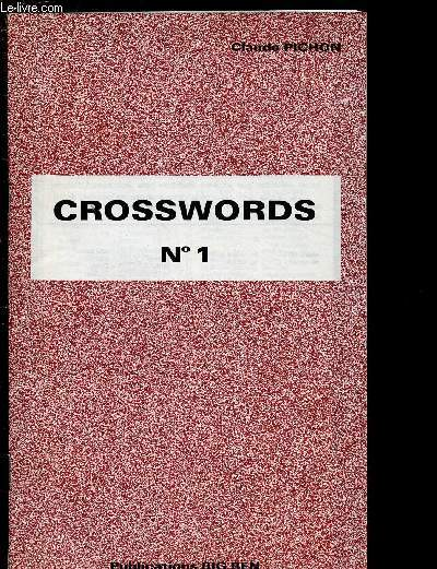 CROSSWORDS N°1