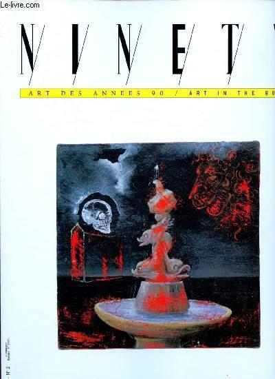 ART DES ANNEES 90 / ART IN THE 90'S : ENZO CUCCHI - ROB SCHOLTE