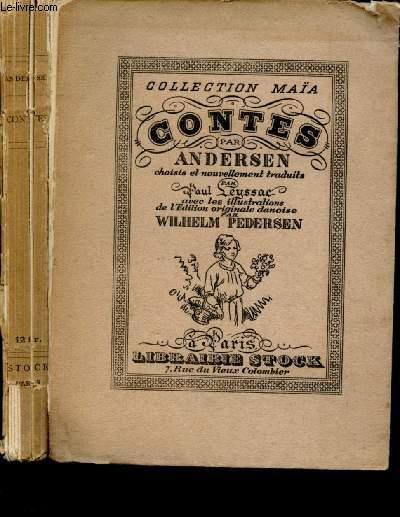 CONTES D'ANDERSEN : le sabot et la balle - la petite fille aux allumettes - l'aiguille à repriser - les habits neufs de l'empereur - la bergère et le ramoneur - la rossignol - les fleurs de la petite Ida - la princesse sur un pois - le sapin - etc