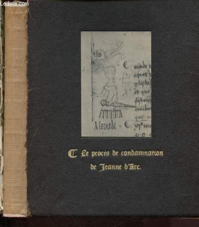 LE PROCES DE CONDAMNATION DE JEANNE D'ARC