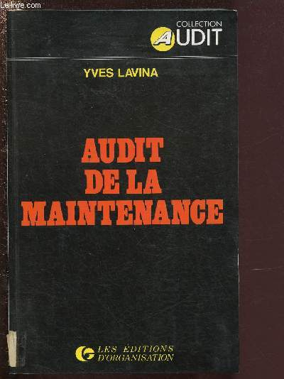 AUDIT DE LA MAINTENANXE