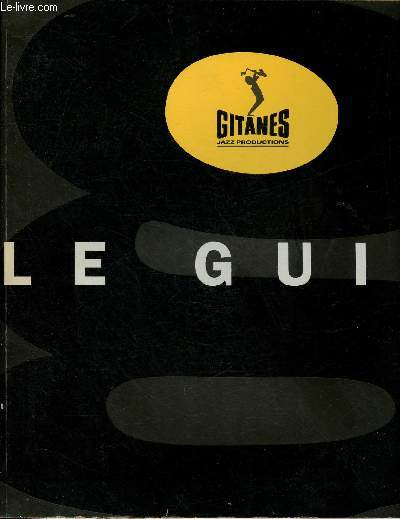 LE GUIDE -  GITANES - JAZZ PRODUCTIONS