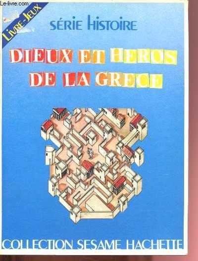 Dieux et héros de la Grèce (Livre-Jeux)