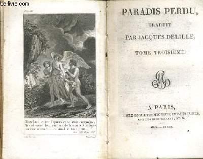 PARADIS PERDU Tome 3
