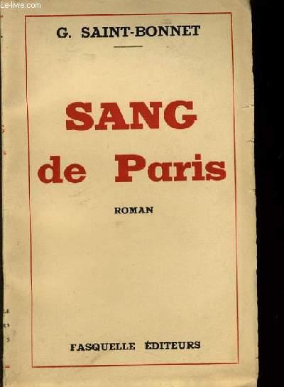 SANG DE PARIS