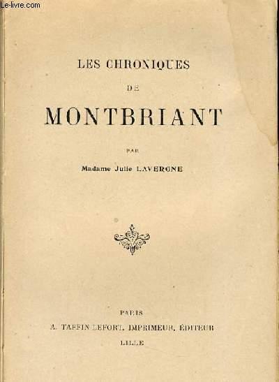 LES CHRONIQUE DE MONTBRIANT