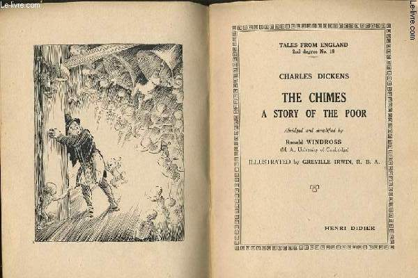 THE CHIMES A STORY OF THE POOR abriged and simplified by RONALD WINDROSS