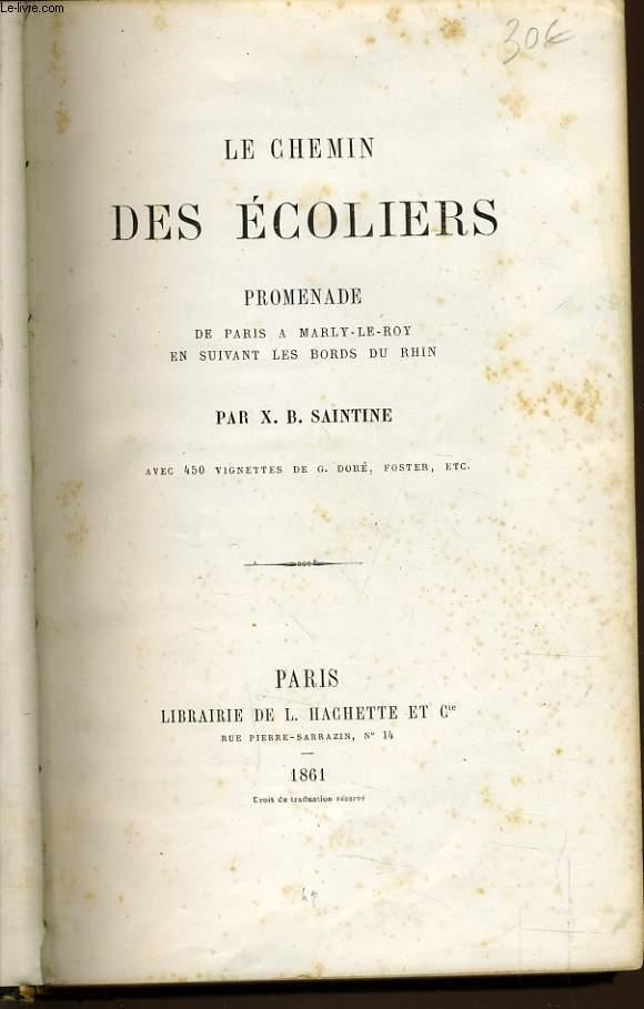 LE CHEMIN DES ECOLIERS promenade de Paris à Marly le roy en suivant les bords du Rhin