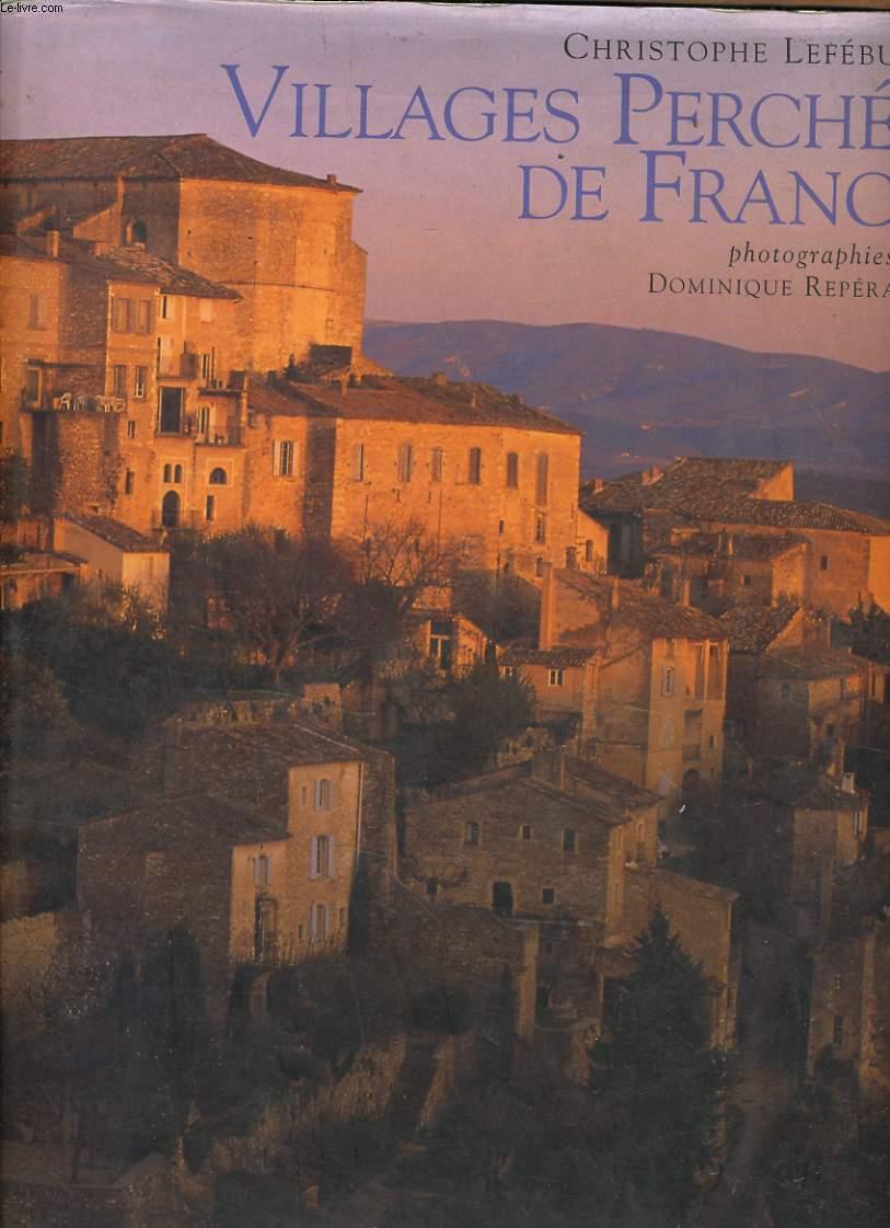 VILLAGE PERCHES DE FRANCE