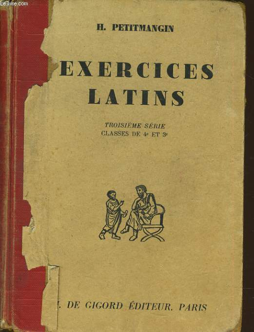 EXERCICES LATIN  troisième série classe de 4e et 3e