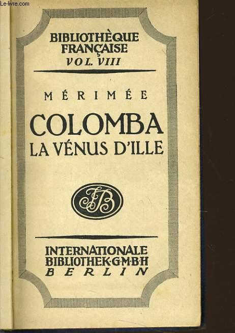 COLOMBA - LA VENUS D'ILLE