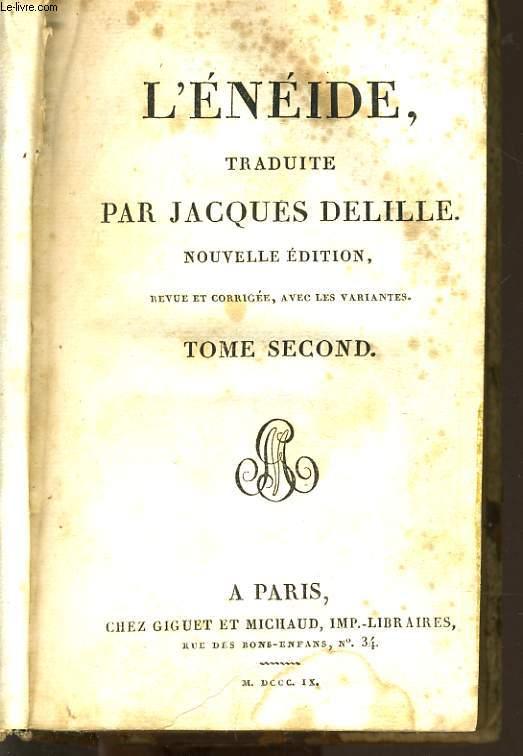L'ENEIDE tome II