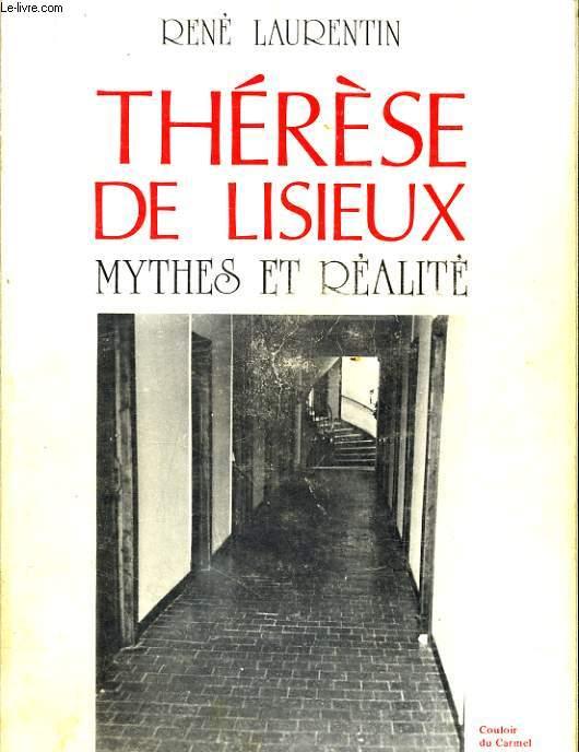 THERESE DE LISIEUX mythes et réalité