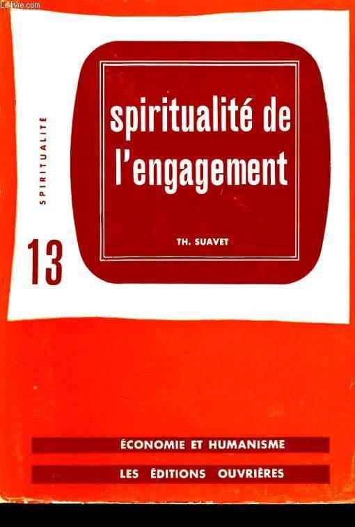 SPIRITUALITE DE L'ENGAGEMENT