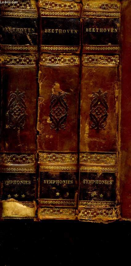 SYMPHONIES en 3 volumes