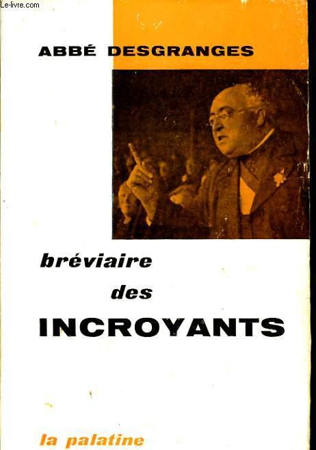BREVIAIRE DES INCROYANTS