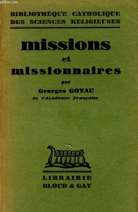MISSIONS ET MISSIONNAIRES