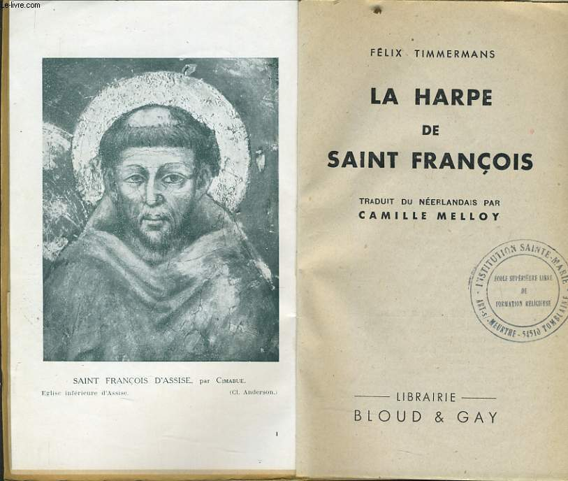 LA HARPE DE SAINT FRANCOIS