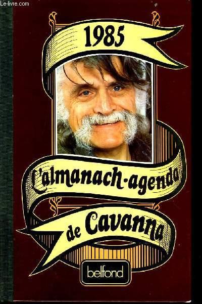 ALMANACH AGENDA DE CAVANNA