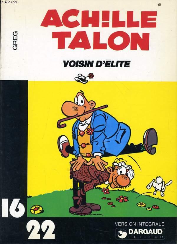 ACHILLE TALON VOISIN D'ELITE