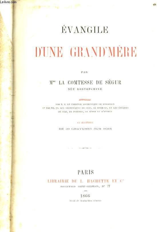 EVANGILE D'UNE GRAND MERE