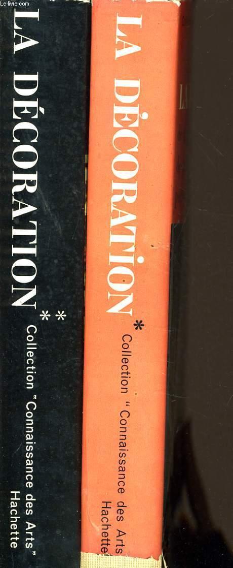 LA DECORATION en 2 tomes