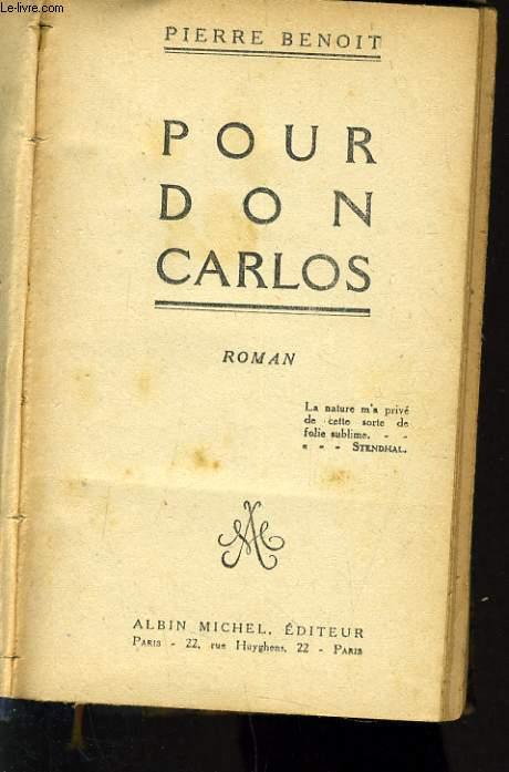 POUR DON CARLOS