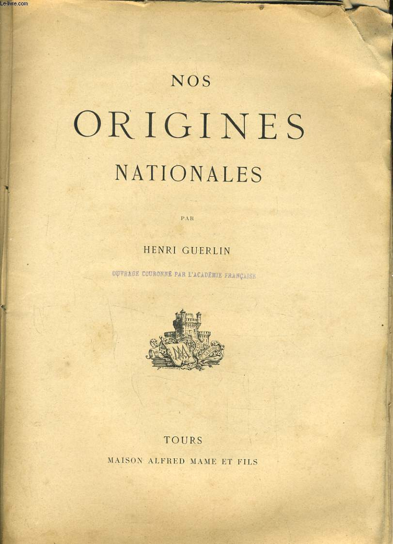Nos origines nationales