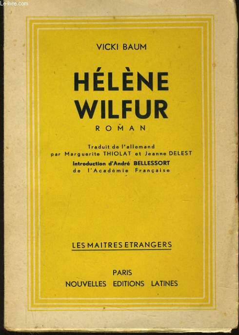 HELENE WILFUR