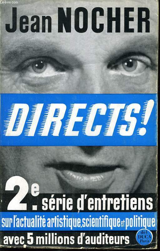 DIRECTS ! 2e serie d'entretiens sur l'actualité artistique scientifique et politique