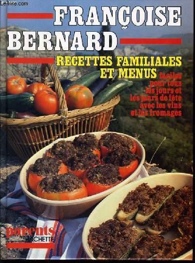 Les carnets de francoise bernard automne 1960 mes - Livre de cuisine facile pour tous les jours ...