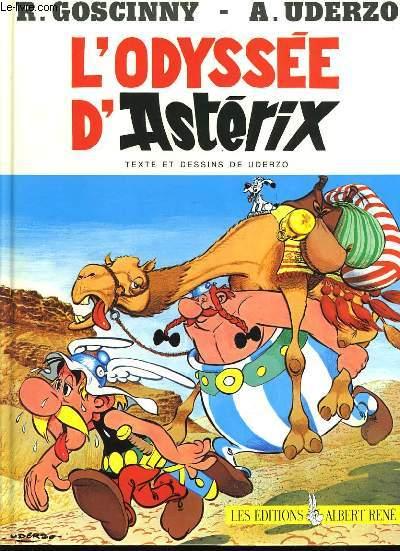 UNE AVENTURE D'ASTERIX LE GAULOIS  : L'odyssée d'Astérix