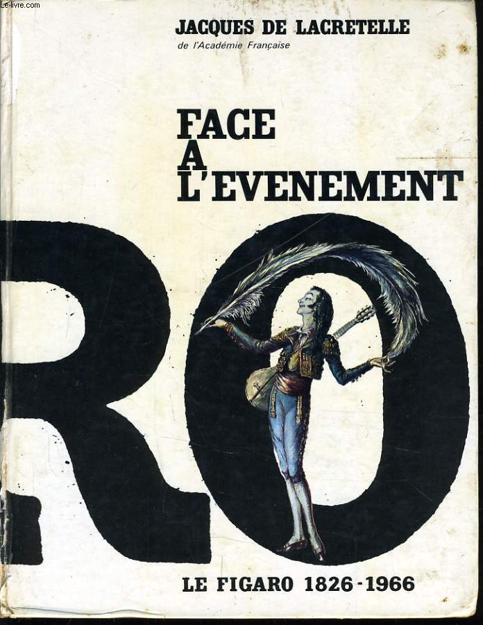 FACE A L'EVENEMENT le figaro 1826-*1966