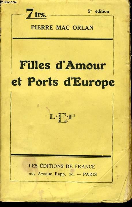 FILLES D'AMOUR ET PORTS D'EUROPE