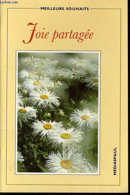 JOIE PARTAGEE