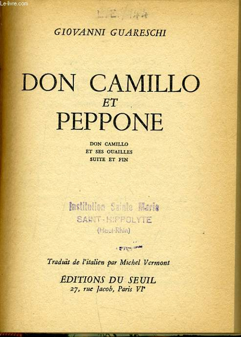 DON CAMILLO ET PEPPONE