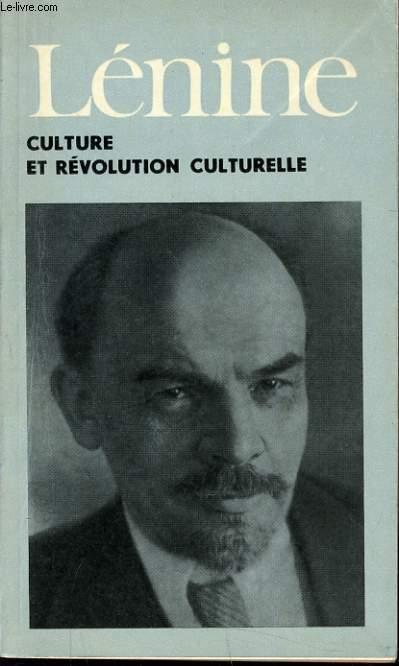 CULTURE ET REVOLUTION CULTURELLE