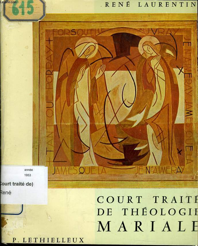 COURT TRAITE DE THEOLOGIE MARIALE