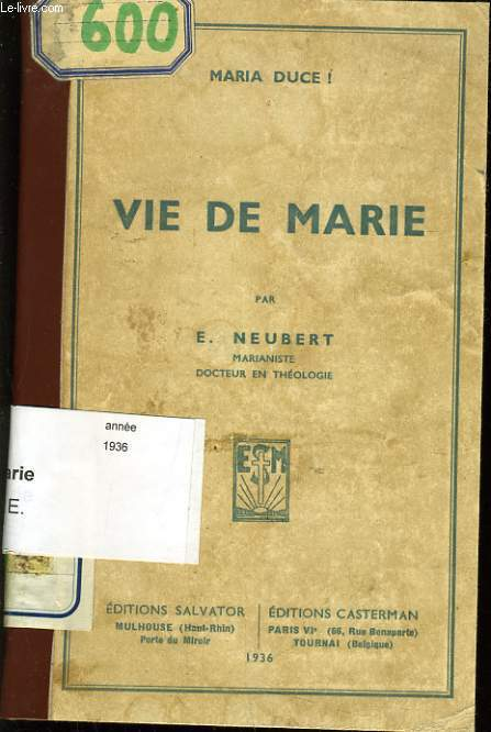 VIE DE MARIE