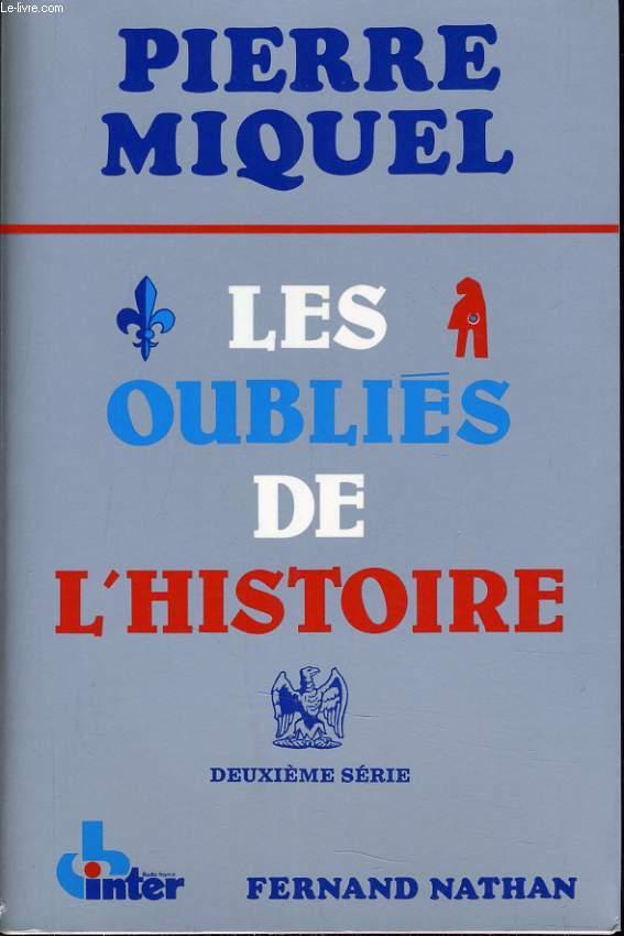 LES OUBLIES DE L'HISTOIRE