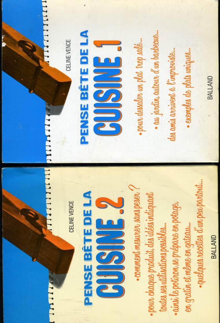 PENSE BETE DE LA CUISINE en deux volumes