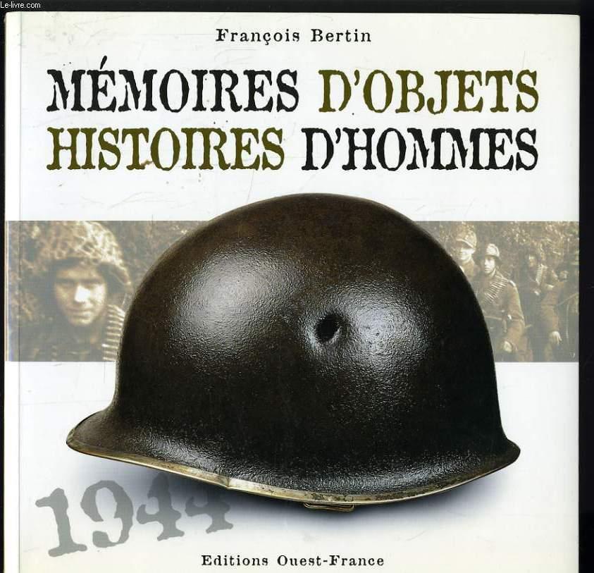 MEMOIRES D'OBJETS histoires d'hommes