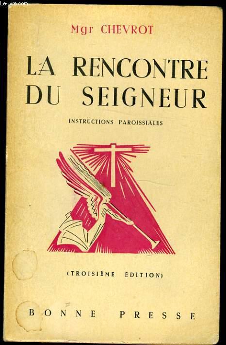 LA RENCONTRE DU SEIGNEUR introduction paroissiales