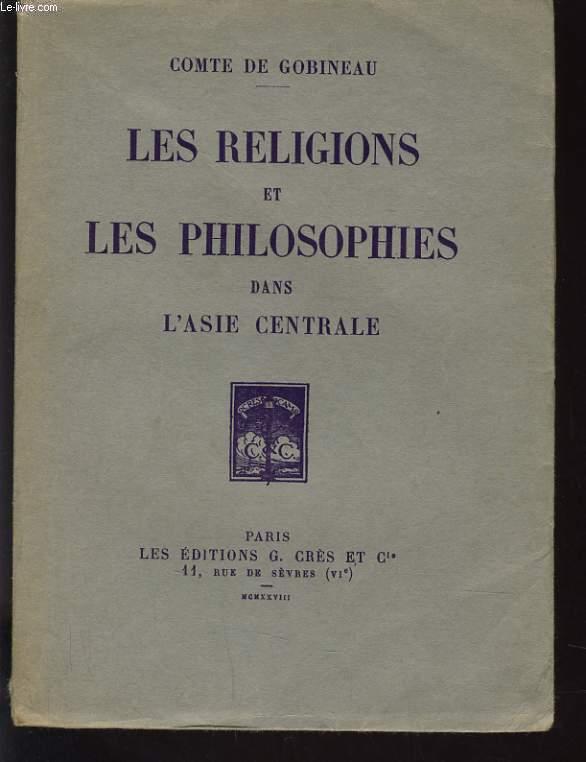 LES RELIGIONS ET LES PHILOSOPHIE DANS L'ASIE CENTRALE