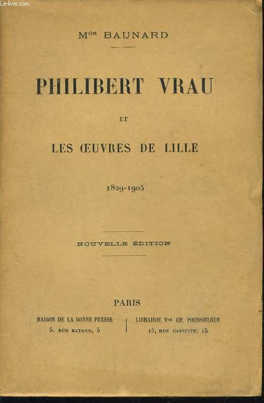 PHILIBERT VRAU ET LES OEUVRES DE LILLE 1829-195