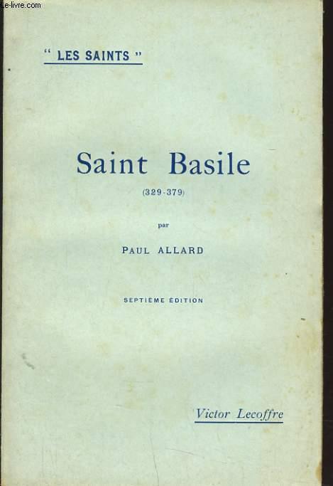 SAINT BASILE 329-379
