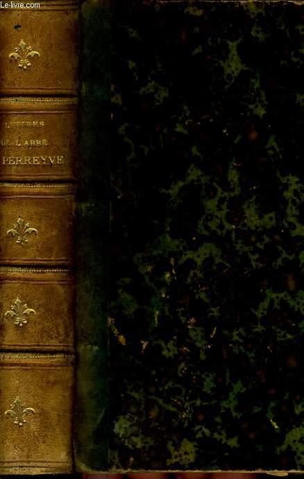 LETTRES DE L'ABBE HENRI PERREYVE 1850-1865 AVEC UNE LETTRE DU MONSEIGNEUR D'ORLEANS