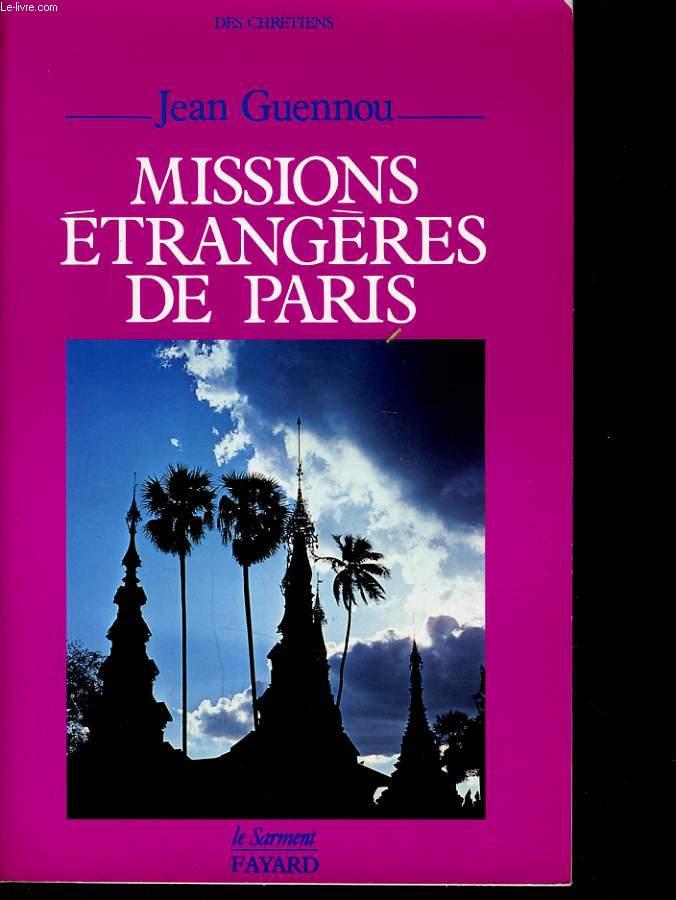 MISSIONS ETRANGERES DE PARIS