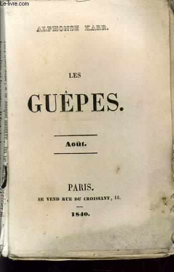 LES GUEPES - AOUT