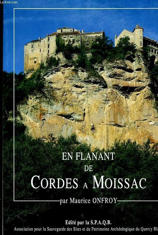 EN FLANANT DE CORDES A MOISSAC